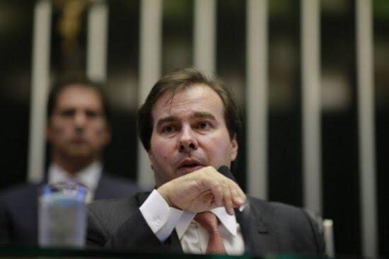 O presidente da Câmara dos Deputados, Rodrigo Maia (DEM-RJ)
