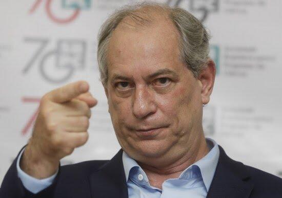 Ciro Gomes (PDT), candidato a presidente nas eleições 2018